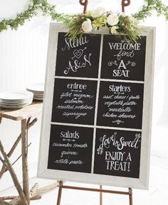 Wedding Guest Window Welcome Sign