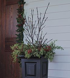 Lighted Willow Twig Decorations For Indoor And Outdoor Decorating