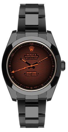 Bamford Rolex Milgauss Aftershock Watch.