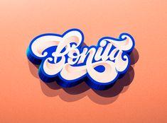 You're Bonita by Jonathan Ortiz Lettering, Adobe, Behance, Design, Pretty, Behavior, Calligraphy, Cob Loaf