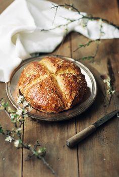 Spelt Soda Bread  suvellecuisine.com