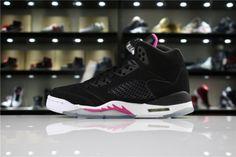 fde143f25f9534 Newest Air Jordan 5 Retro GS Deadly Pink Black Deadly Pink-White -  Mysecretshoes Discount