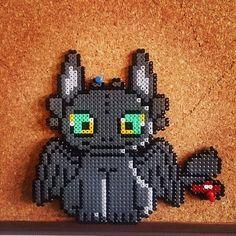 Desdentado  How To Train Your Dragon Perler (Hama) Beads