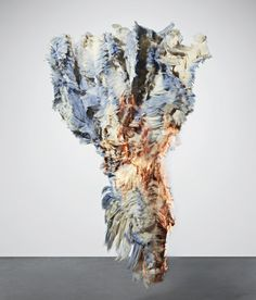 Ink and materials that change colour according to climate by Lauren Bowker