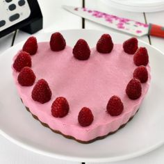 Cheesecake cu zmeura, made by Jamila Cuisine