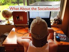"""If you're a homeschool or virtual school parent, you've definitely heard this knee-jerk reaction, """"What about the socialization?!"""" http://www.kevinandmelissa.com/what-about-the-socialization/"""