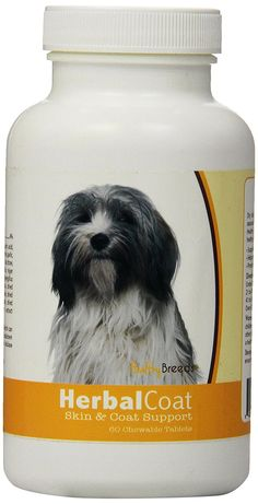 Healthy Breeds Herbal Coat and Skin Support Chewables,  Tibetan Spaniel  / 60 Count >>> For more information, visit image link. (This is an affiliate link and I receive a commission for the sales)