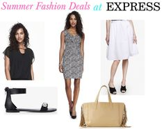 Deals on Summer Fashions at Express and JCPenney