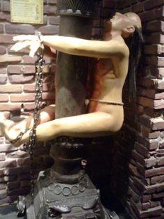 Tit crushing torture art