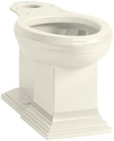 Kohler K-5626 Memoirs Elongated Comfort Height Toilet Bowl - Less Tank and Seat Biscuit Fixture Bowl Only Bowl Only