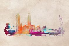 New York City skyline - JBJart
