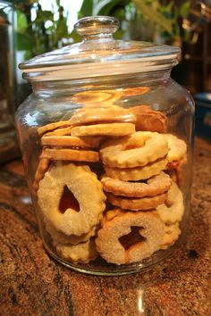 SUGAR COOKIE SANDWICHES with JAM  Check recipe on my website!!!