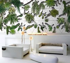 "Vegetal Wall ""Deltaflore"" by Designer Benjamin Pawlica | http://www.designrulz.com/product-design/2012/10/vegetal-wall-deltaflore-by-designer-benjamin-pawlica/"
