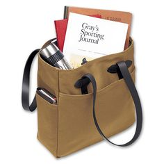 Need something like this for school, so people stop thinking I'm a student when I'm at work... filson tote bag