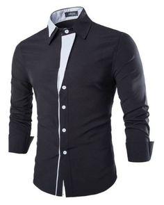 PERMITA-SE ESTILO EM SUAS CAMISAS ELEGANTES -CAMISA CASUAL SOFISTICADA COM DETALHES - GOLA FASHION ELEGANTE - PRETA-  www.CamisetasImportadas.com👔  #Camisas #CamisasImportadas #CamisetasImportadas #ModaMasculina #ModaHomens #Moda2016 #Fashion #FashionMen #MenFashion #Fashion2016 #LookDoDia #OOTD #OOTN