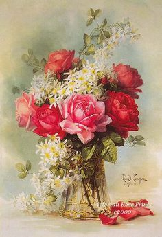 FREE SHIP Print Exquisite Victorian Roses by VictorianRosePrints, $11.99