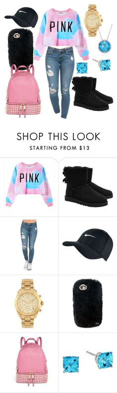 """A nice winter outfit "" by maddysr306 ❤ liked on Polyvore featuring interior, interiors, interior design, home, home decor, interior decorating, Chicnova Fashion, UGG Australia, NIKE and Michael Kors"