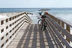 There's nothing like a bike ride along the ocean, with a nice long swim!