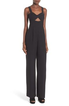 Leith Twist Front Jumpsuit available at #Nordstrom