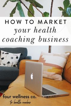 How To Market Your Health Coaching Business   Beginner Business Tips - Are you looking for ways to promote your online health and wellness business? Click to learn the top marketing strategy we recommend for attracting new clients to your health coaching business.   How To Be Successful   How To Market Your Business   Marketing Ideas   Successful Business Tips   Four Wellness Co. #marketing #business #entrepreneur #success #healthcoaching #nutrition Successful Business Tips, Business Advice, Business Entrepreneur, Business Marketing, Content Marketing Strategy, Marketing Ideas, Wellness Company, Dream Career, Online Coaching