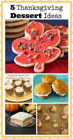Five Thanksgiving Dessert Ideas - Project Inspired Features - The Silly Pearl
