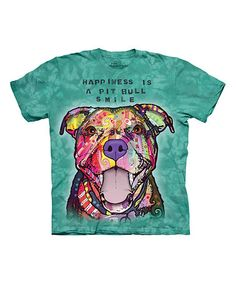 Another great find on #zulily! Green 'Pit Bull Smile' Sublimation Tee - Toddler & Kids #zulilyfinds