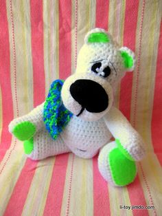 Amigurumi Pattern - Teddy bear.
