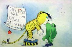 Janosch : Ich liebe Dich Du kleine grüne Flöte