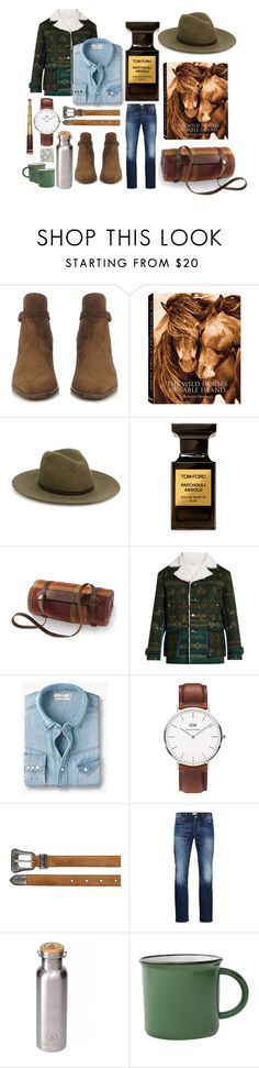 """You, Me, and a Sky Full of Stars"" by eddiebarragan ❤ liked on Polyvore featuring Yves Saint Laurent, rag & bone, Tom Ford, Frontgate, Valentino, MANGO, Daniel Wellington, Jack & Jones, men's fashion and menswear"