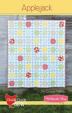 Applejack Quilt Pattern<BR>Cluck Cluck Sew