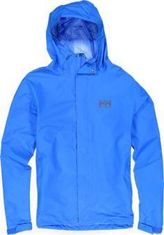 8c1c35e4d2 Helly Hansen Men's Seven J Rain Jacket Racer Blue XL Mens Rain Jacket,  Hooded Jacket
