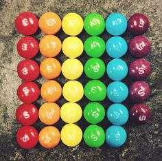 This arrangement of Skittles that literally show you the rainbow: Daily Number, Number Sense, Mathematics Images, National Candy Day, 2nd Grade Math, Second Grade, Number Talks, Math Talk, Elementary Math