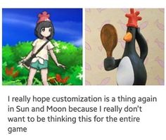 Can't be unseen......Pokemon Sun and Moon - Female Trainer