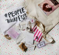Goodie Bag GIVEAWAY from our Etsy Craft Party!  Open world wide, free to enter + over £50 of prizes!!