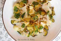 Les recettes de Nathou: Pâtes orecchiette aux aubergines et origan frits