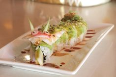 Skybar Steak & Sushi Bar | 2107 Postoffice || Asian Fusion, Japanese, Seafood and Sushi Bars,  features late night happy hour until 11 pm on Friday and midnight on Saturday #datenight #weekendgetaway