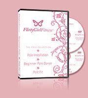 Beginner Pole Dance & Pole Fit Double DVD