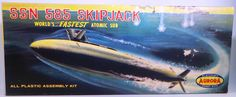 Maritime Atomic Submarine Skipjack Aurora Model KIT Made IN Great Britain | eBay