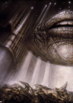 Hans Rüdi Giger: Hyperspace II