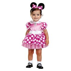 Minnie Mouse Baby Costume 12-18 months, Infant Girl's