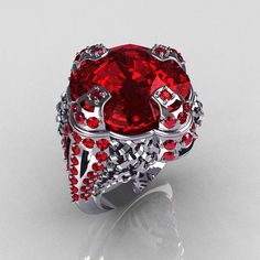Crazy Garnet Ring!
