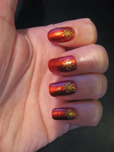 Nailways: NEW NAILWAYS NAILS: Gold Apollo