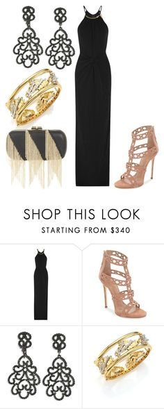 """Untitled #27396"" by edasn12 ❤ liked on Polyvore featuring Michael Kors, Giuseppe Zanotti, Kenneth Jay Lane, Roberto Coin and BCBGMAXAZRIA"