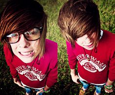 Never Shout Never <3.... I look so much like Christopher Drew now its not even funny.... I cant even anymore! I have lost the ability to can!