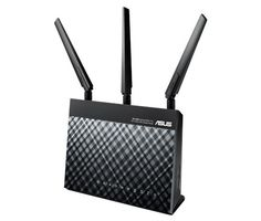 Asus RT-AC68U Dual-band Wireless-AC1900 Gigabit Wifi Router Review #bestwifirouter2020 #asus-rt-ac68u Best Wifi Router, 4g Internet, Print Server, Router Reviews, Cloud Gaming, Linux Kernel, Trend Micro, Data Transmission, Linux