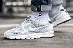 e134925ad9dced Look For The Nike Air Span 2 SE Pure Platinum With Mini Swooshes Now The  Nike
