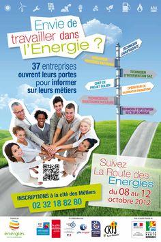 Découvrez les métiers de l'énergie au coeur des entreprises de la région