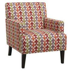 Un lindo sillón, se puede usar para en un rincón, podemos colocar una lámpara y tendremos un bello lugar para leer.