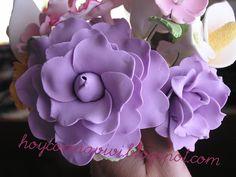 Hoy cocina Vivi: Curso de flores de azúcar. Rosas