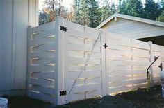 Astonishing Cool Tips: Fence Design Kids bamboo fence terrace.Old Concrete Fence bamboo fence frame.Old Concrete Fence. Garden Fence Panels, Fence Planters, Lattice Fence, Front Yard Fence, Dog Fence, Garden Walls, Wooden Fence Gate, Fence Doors, Brick Fence